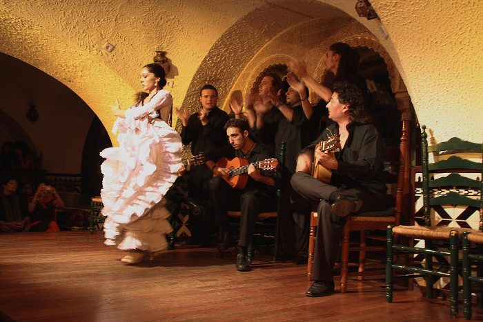 Espectáculo de flamenco